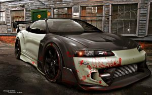 Mitsubishi Eclipse by edcgraphic