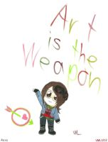 Art is the weapon-ID by VML1212