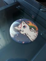 Okami button by LlamaRider