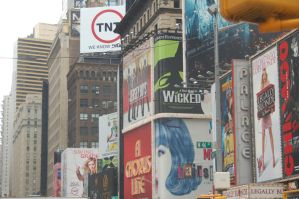 Times Square by Green-Ocean-Stock