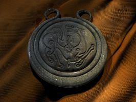 Wolf guard amulet by Shadeck
