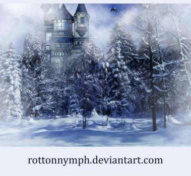 Wintertime_premade_background by RottonNymph