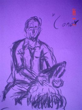 brother and dog by oreillysarah