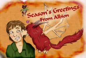 Albion Christmas Card-2006 by FroudTheXenophile