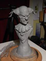 Clowny-clown-clown-#-3-wip by Blairsculpture