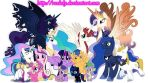 The royal Family MLP:FIM/Familia real MLP:FIM by raelaly