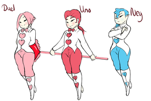 Revamped Cupids by GingerQuin