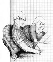 relaxed couple - BlackBookTWO010 by vkonzack