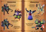 Gems of Castelaria Game Manual: Villains by Nidaram