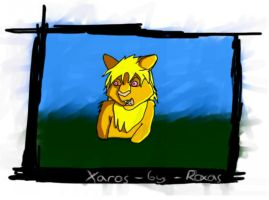 Xaros in sketcher by RoxasRavenswood