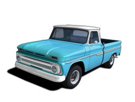 1965 chevy by a4000