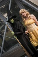 Elphaba and Glinda by Aires89