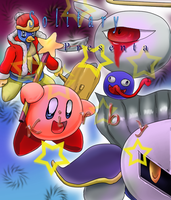 Kirby Project Manga 01 by Diusym
