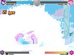MLP Fighting is magic: Playing by my self by Pinkishlover97