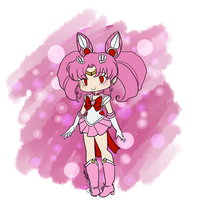 Chibi Sailor Chibi Moon by EternalGraveDancer