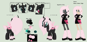 Pomf: Reference Sheet *New Human Name by iPandacakes