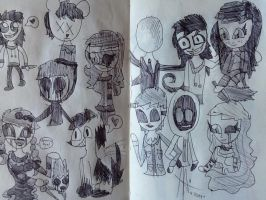 .:Creepypasta dumb sketches 6/20:. by suriminam