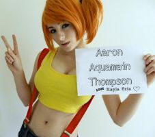 Pokemon: Aaron Aquamain Thompson by KaylaErinOfficial