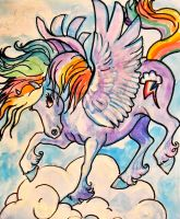 Rainbow Dash painting for sale by jupiterjenny