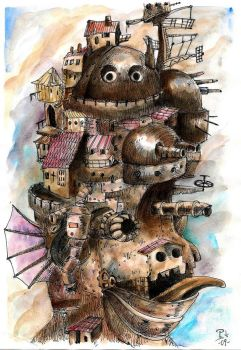Howl's Moving Castle by Py3rr