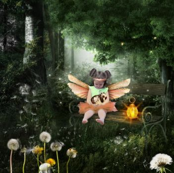 Xalyna in the Forest-by-GothLyllyOn-MMXVII by GothLyllyOn