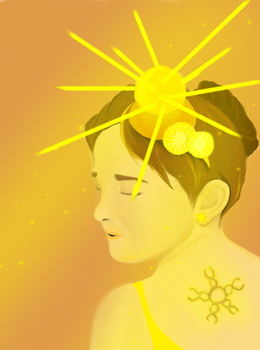Daugther Of The Sun by dracovolare