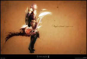 Lineage II weapon set concept - Bow (+off art) by GaudiBuendia