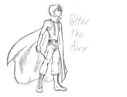 Potter the Auror by Magnet-Rose