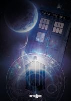 Doctor Who Poster 3 by NineteenPSG