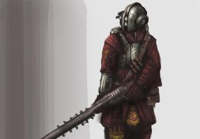 Riveteer marksmen concept drawing by BoxofLizards
