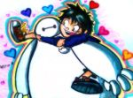 Baymax and Hiro by Blossom-fur7