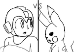 Stream (20.9.14) - Megaman vs Pikachu by angel-light123