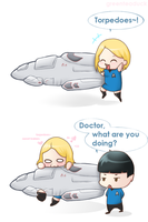 Star Trek: Torpedo love by greenteaduck