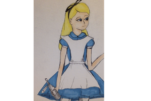 Work in progress Alice by TeslaSong
