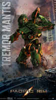 Pacific Rim: Earth Kingdom Tremor Mantis - Poster by Lewis-Christison