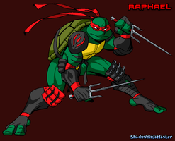 Raphael (Shadow Gear Armor) by ShadowNinjaMaster
