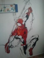 spiderman by cristhiancamcubillos