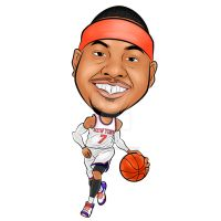 Carmelo Anthony by think2wise07
