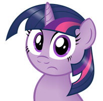 Twilight Sparkle does not comprehend your logic by AleximusPrime