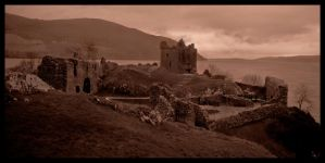 Castle Urquhart by Project-Firefly