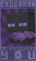 Enderman Propaganda Art by elementiro