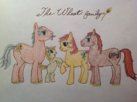The Wheat family by taterjack