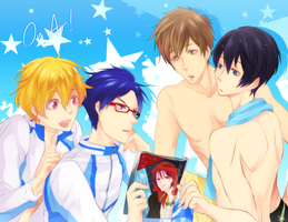 Free! On Air! by SnakeyHoHo