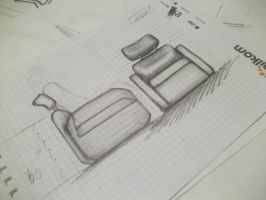Furniture Sketch 11 by cihanYILDIZ