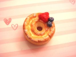 Old Fashion Fruit Doughnut by tiramisuxfluff