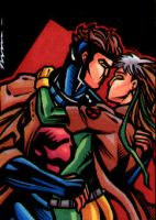 Rogue and Gambit by bukshot