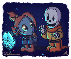 Undertale: Hi There! by forte-girl7