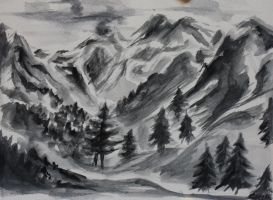 To the Mountains by Weltenmenge