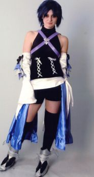 Aqua Cosplay, Zenkaikon 2009 by skieslight