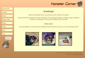 Ham-tastic Web Layout by Kittensoft